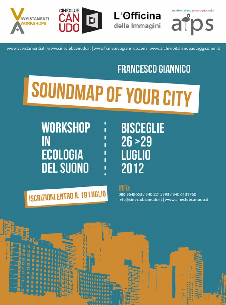 Soundmap of your City | Workshop in Ecologia del Suono