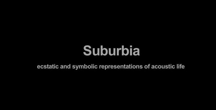 Suburbia – Aips at Maxxi