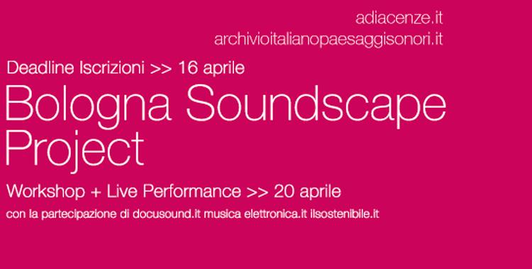 Bologna Soundscape Project