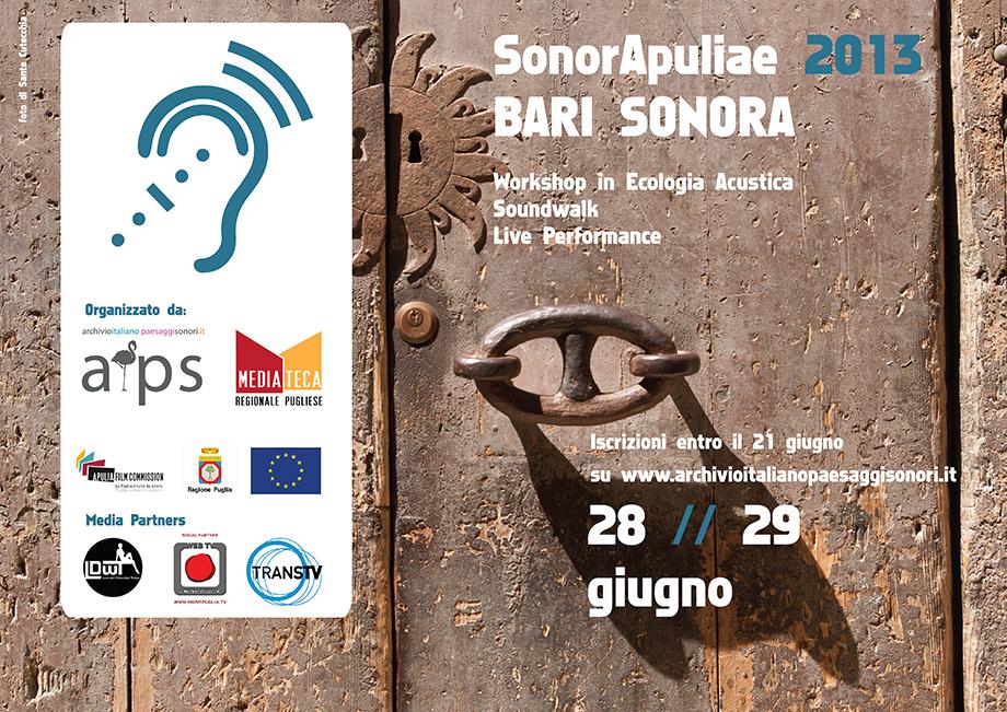 SonorApuliae 2013   Bari Sonora
