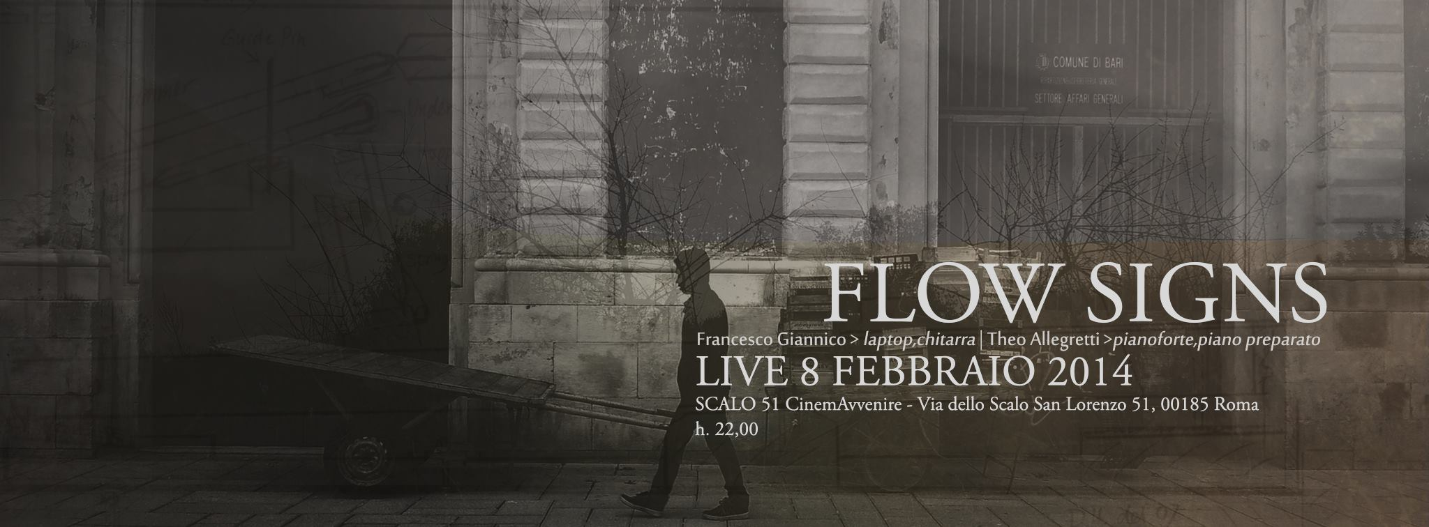 """Flow Signs"" approda a ""Scalo 51/ CinemAvvenire"""
