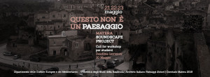 Matera Soundscape Project