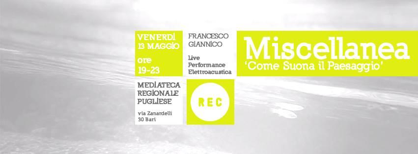 Miscellanea – Live Performance