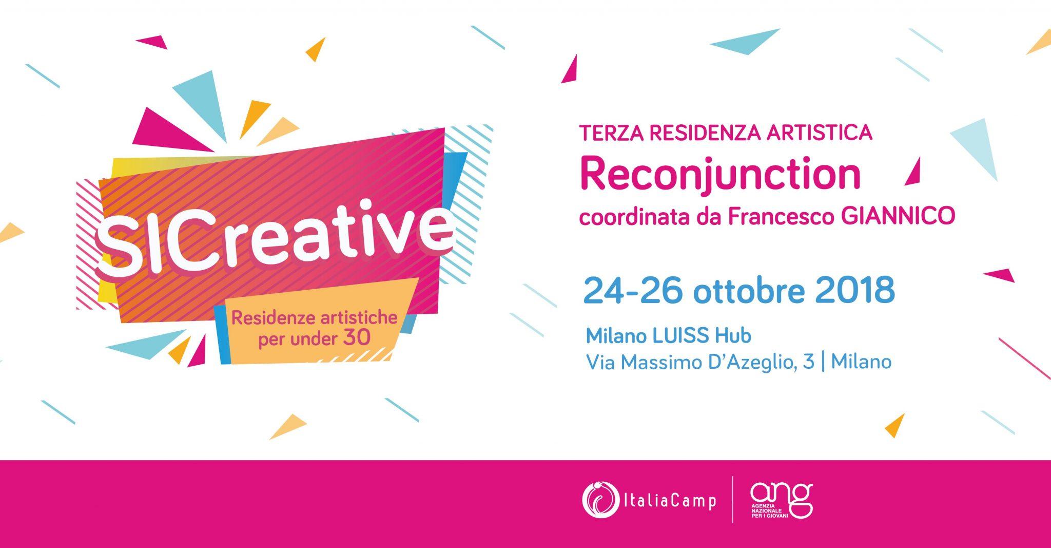 Reconjunction | Milano Luiss Hub | Sic Creative con Francesco Giannico